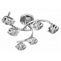 Люстра Searchlight Sculptured Ice II 8086-6CC