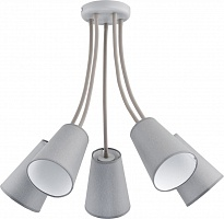 Люстра TK Lighting 2101 WIRE GRAY
