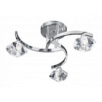Люстра Searchlight Sculptured Ice II 8083-3CC