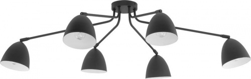 Люстра TK Lighting 2486 LORETTA BLACK